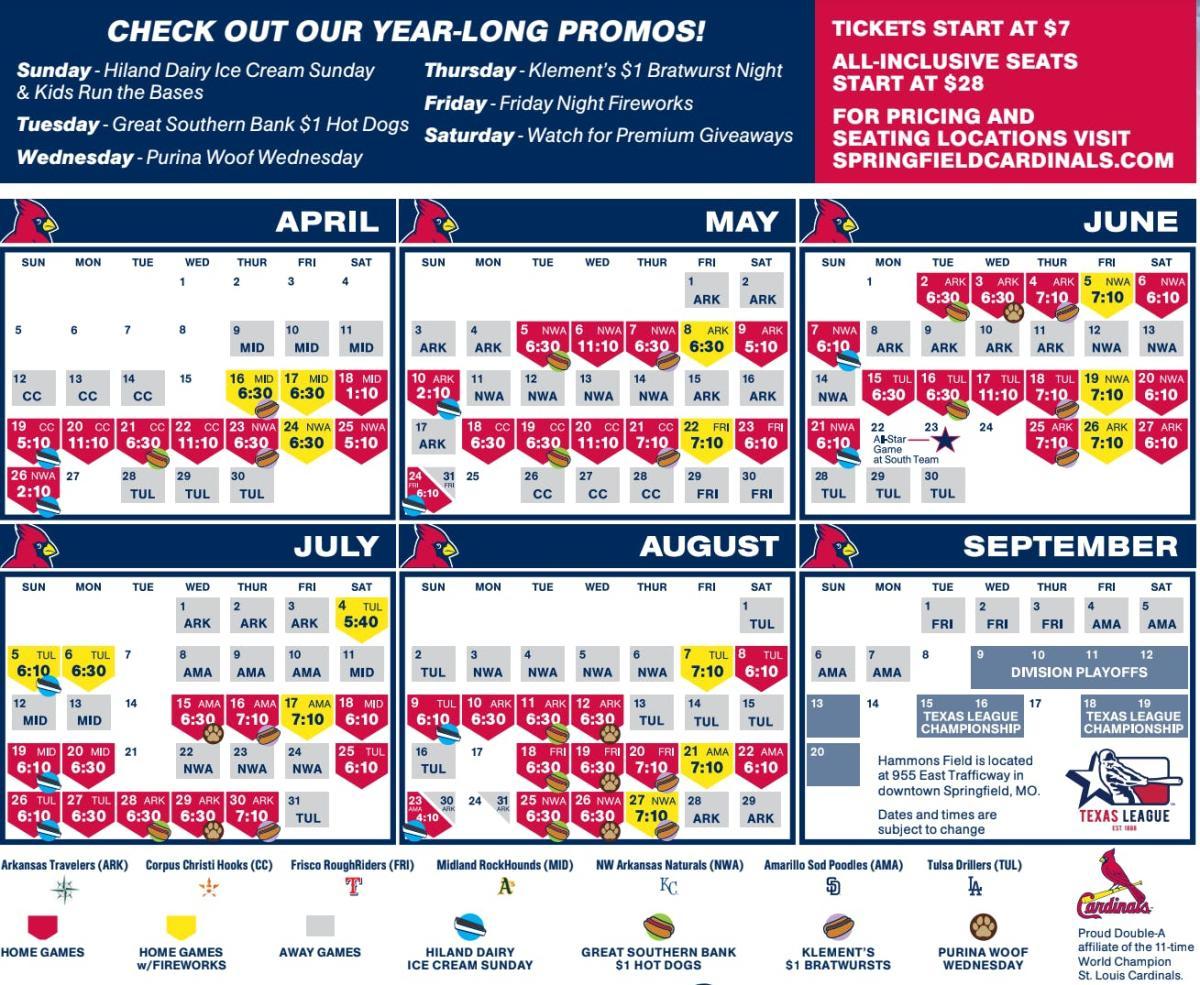 Cardinals Calendar