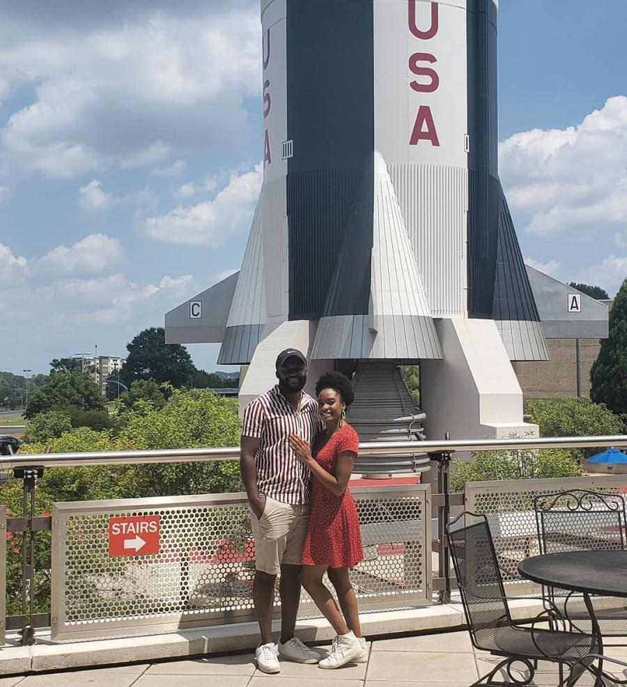 US Space and Rocket Center Couple