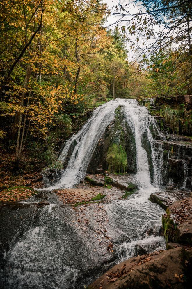 Roaring Run Falls - Botetourt County, VA