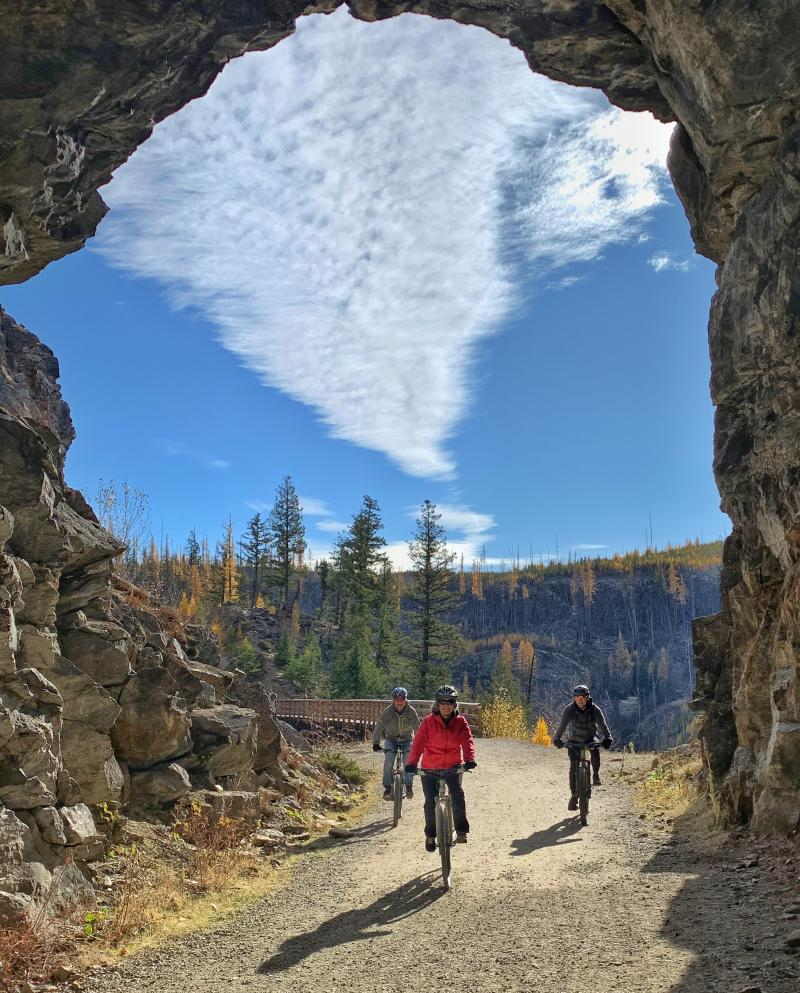 Myra Canyon Trestles in the Fall