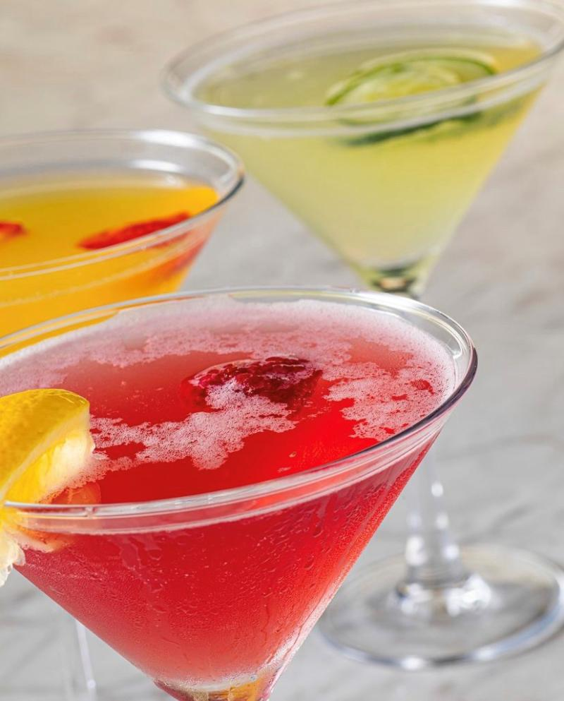 Cocktails From Bravo Italian Kitchen In Virginia Beach
