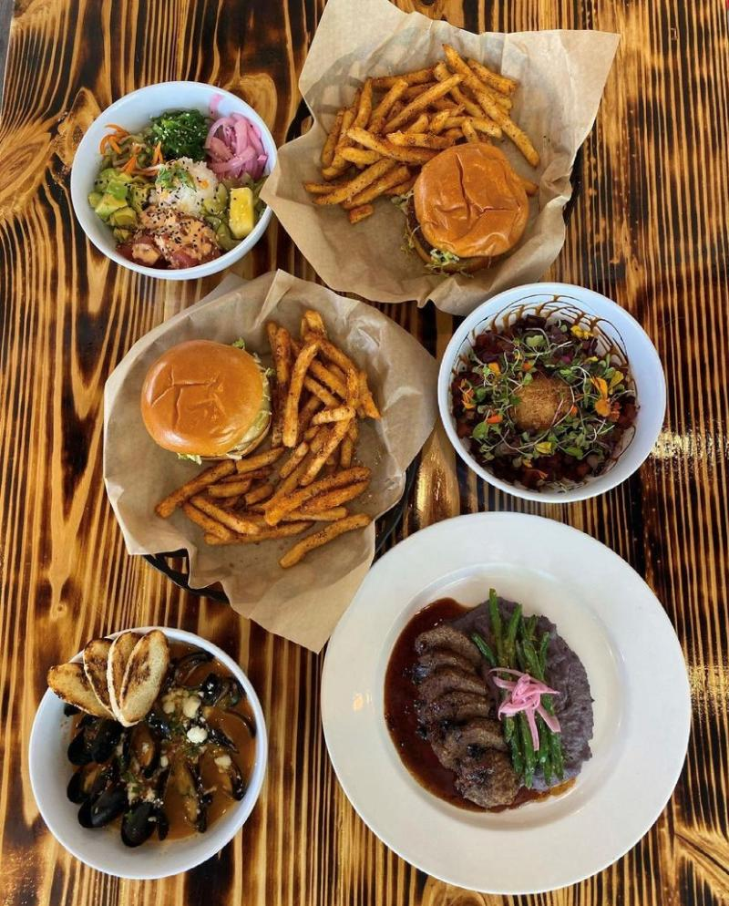 Burgers, Fries, Salads And Steak From Quirks In Virginia Beach