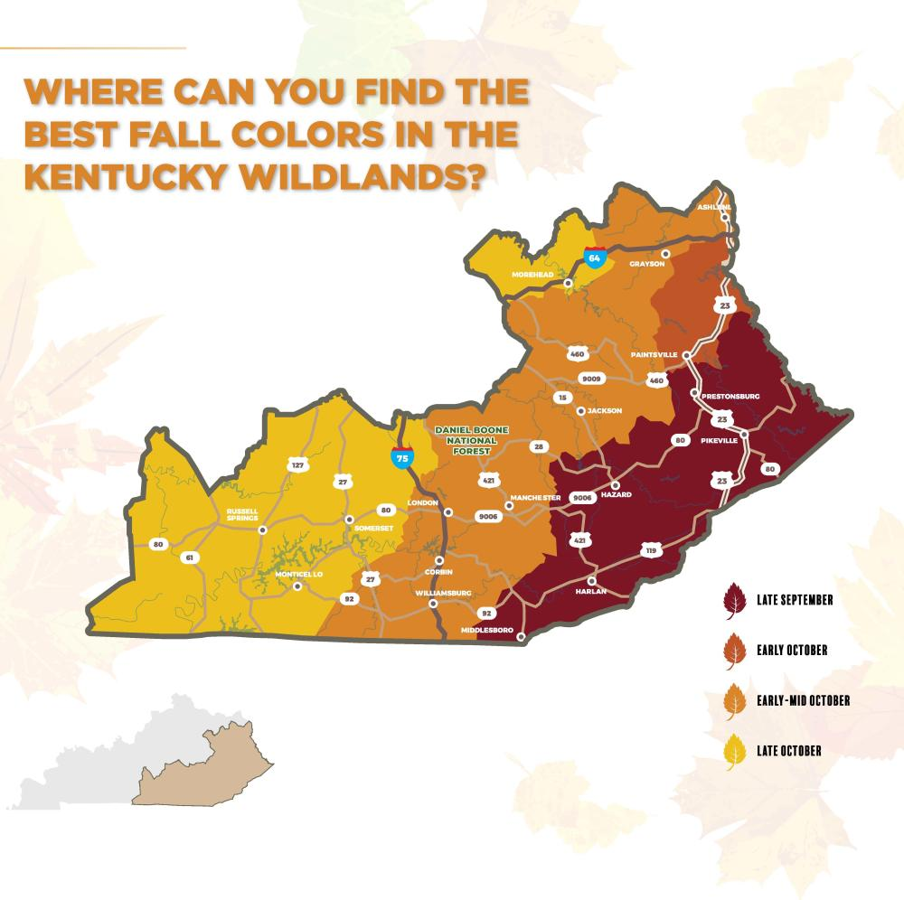 Fall Foliage Map 2021