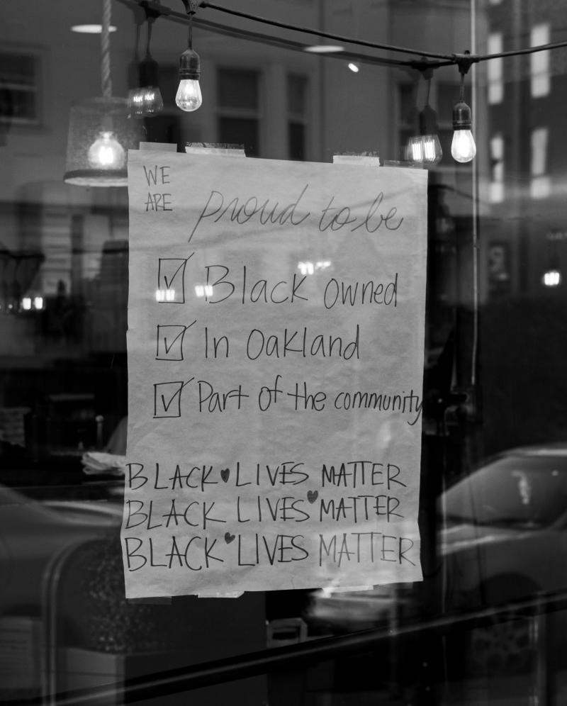 Black-Owned Sign at alaMar
