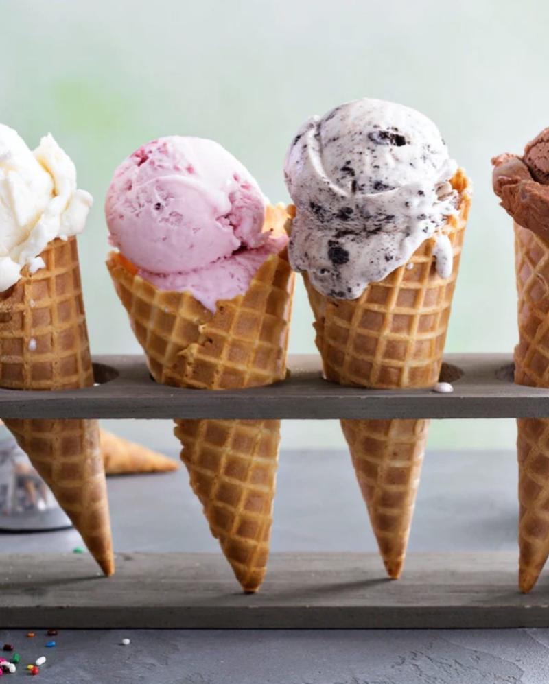 QB Gelato - Ice cream Cones