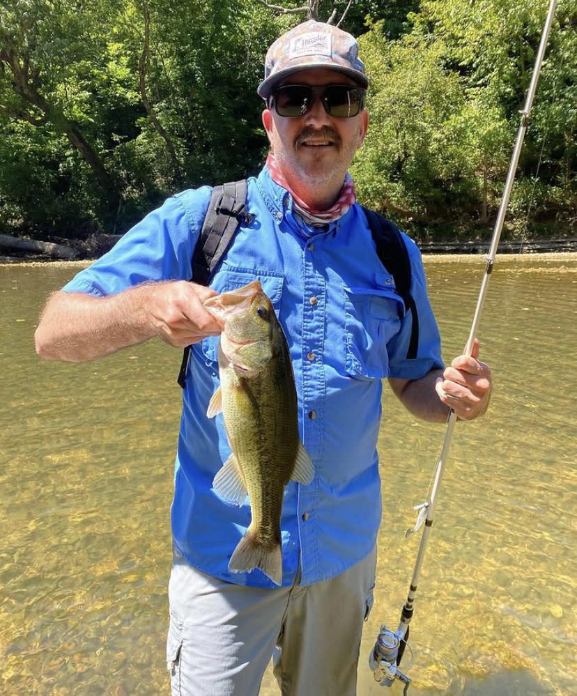 Wade Fishing at James River