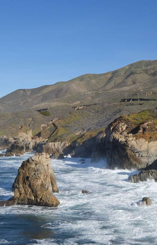 The Big Sur Coast in Monterey County