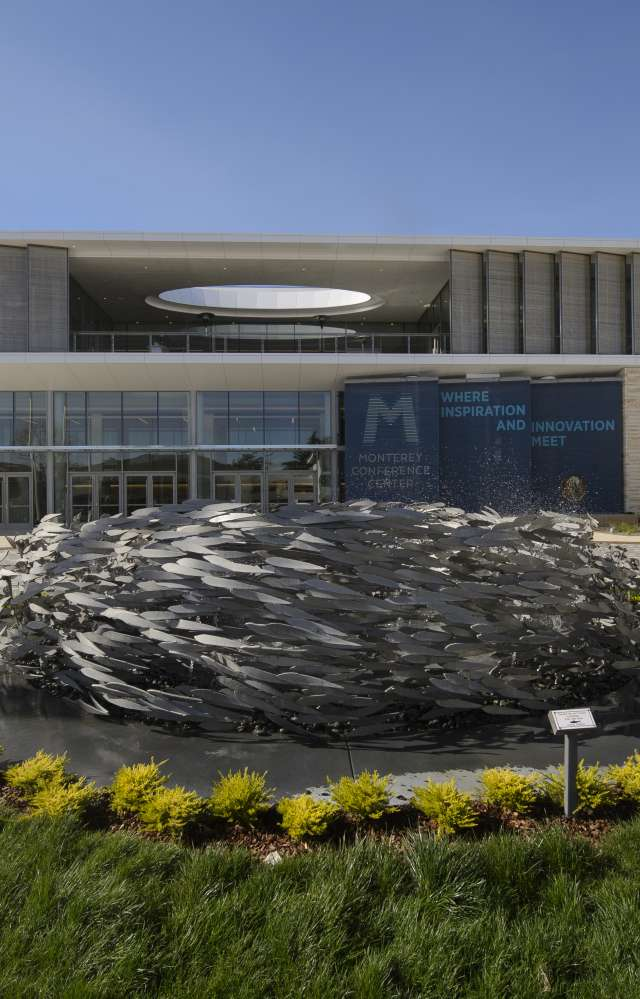 The Monterey Conference Center in Monterey County