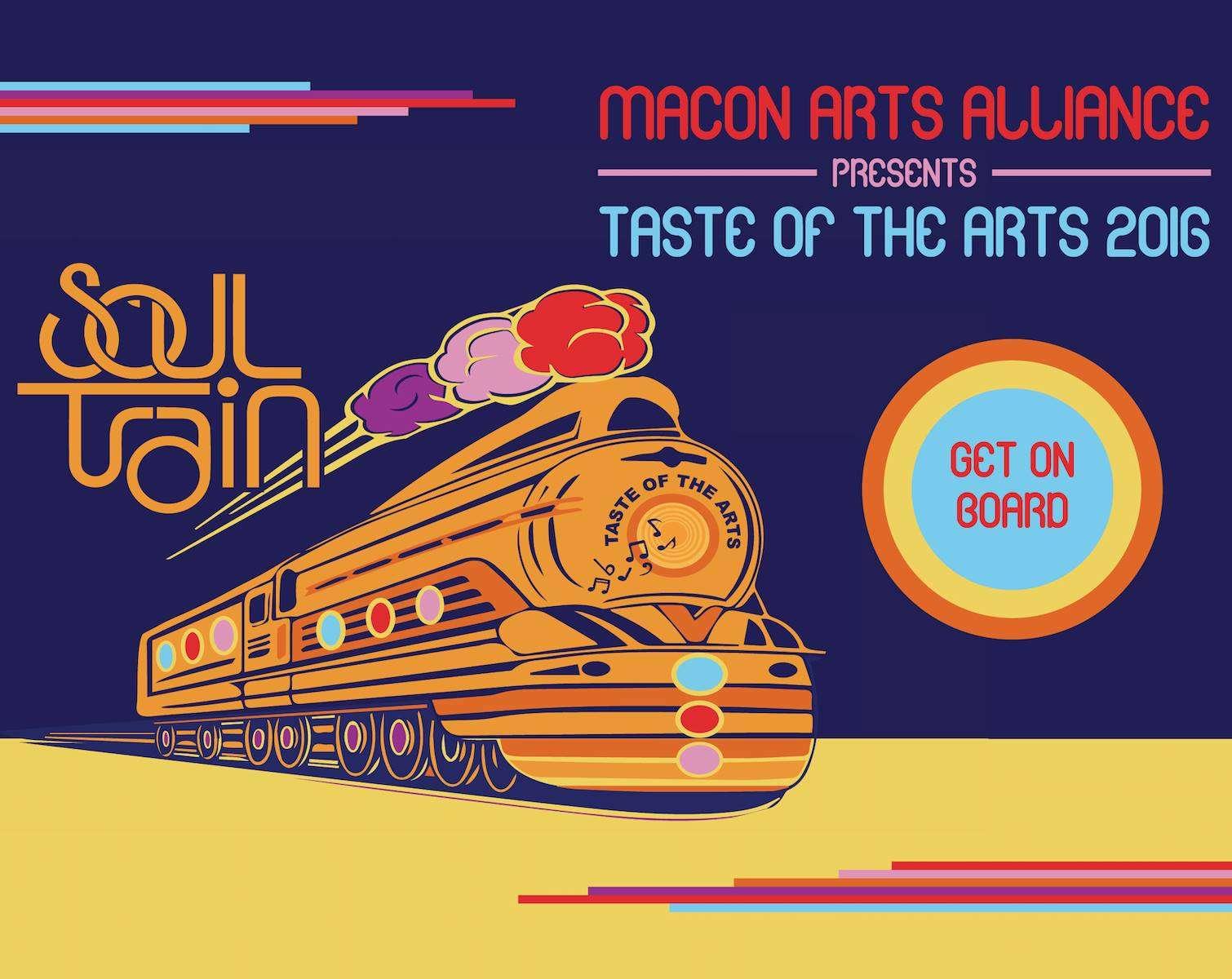 Taste Of The Arts Soul Train Fundraiser Rolls Into Macon