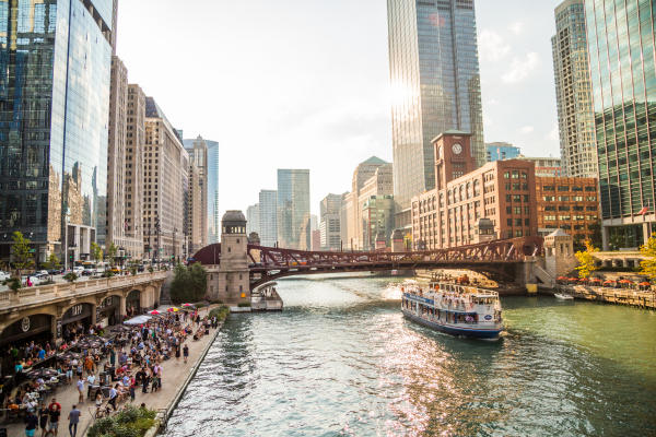 Chicago Riverwalk Boat Tours