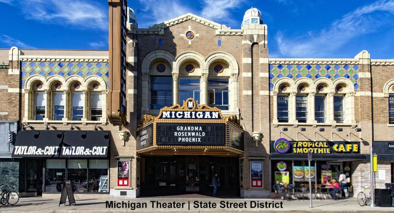 Michigan Theater, State Street District