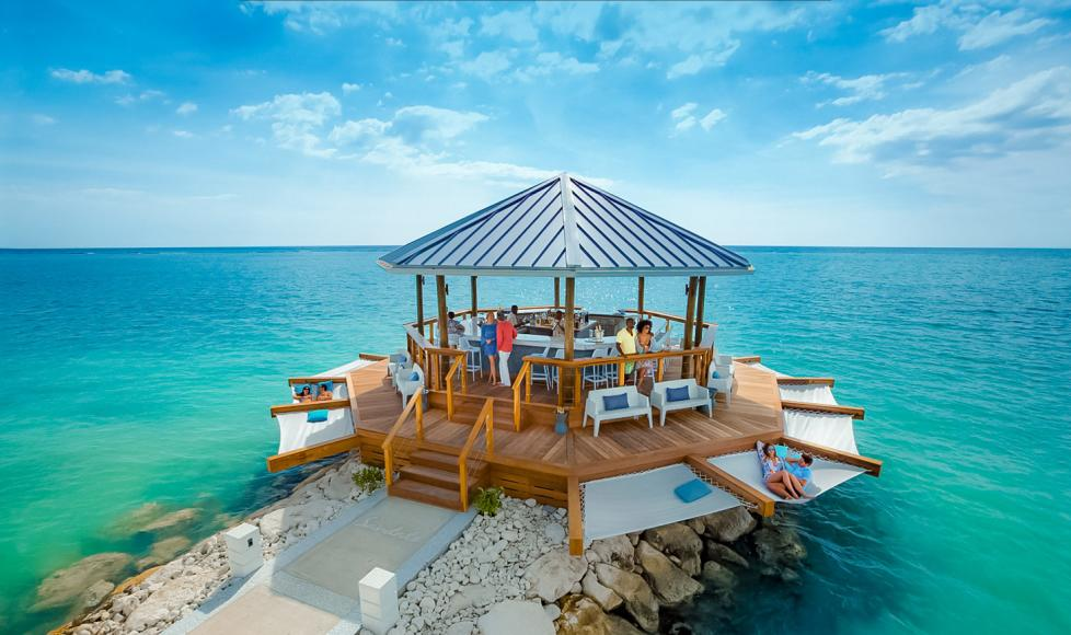bd0f64cc4 Sandals Opens an Overwater Bar in Montego Bay