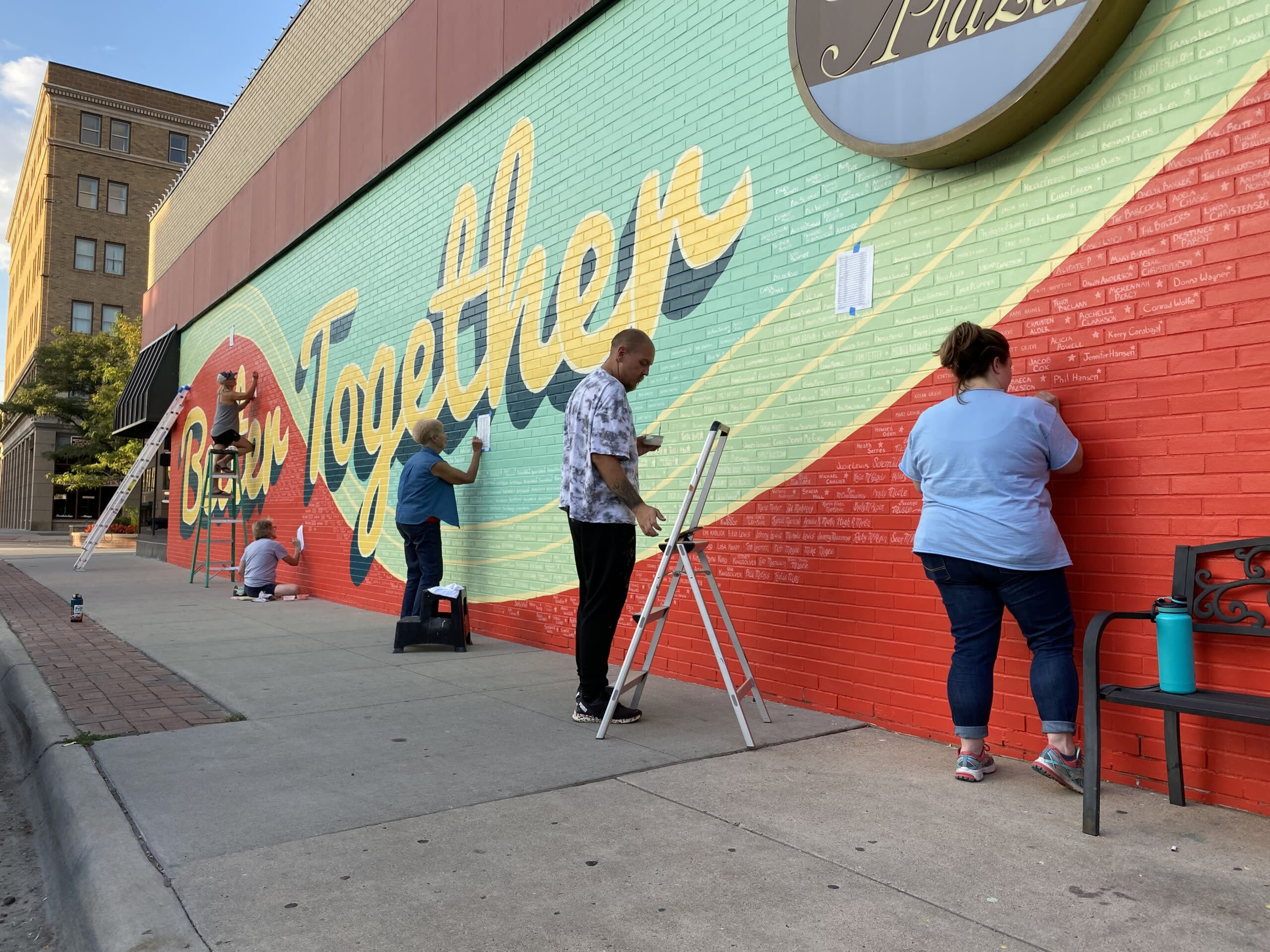 Casper Mural Project: Better Together Mural