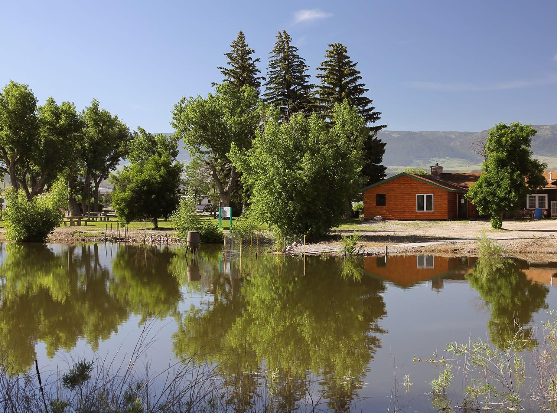 Fort Caspar Campground, Casper Wyoming