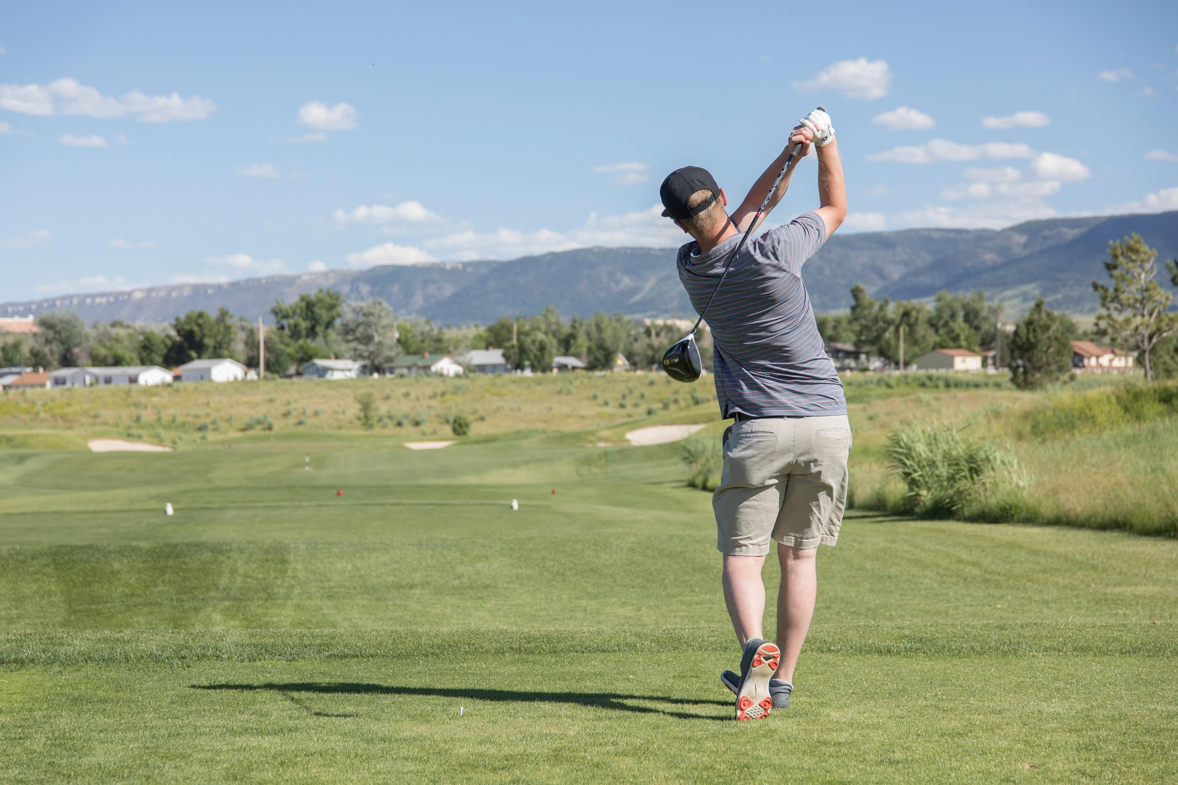 Golfing in Casper, Wyoming