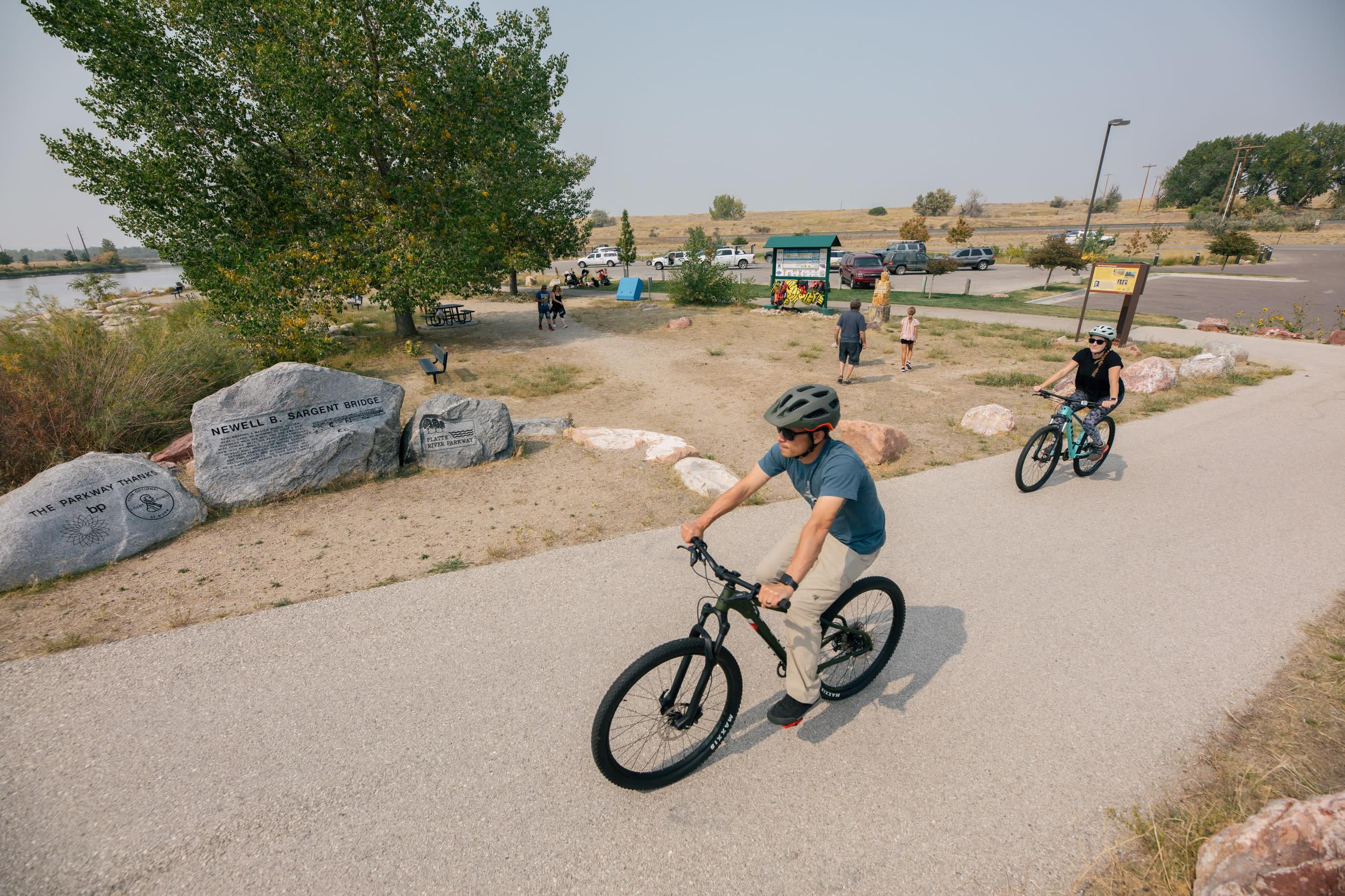 Biking the Platte River Trails System