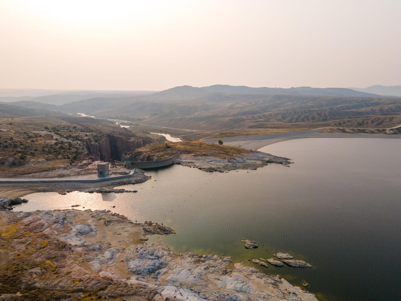 Pathfinder Reservoir, Wyoming