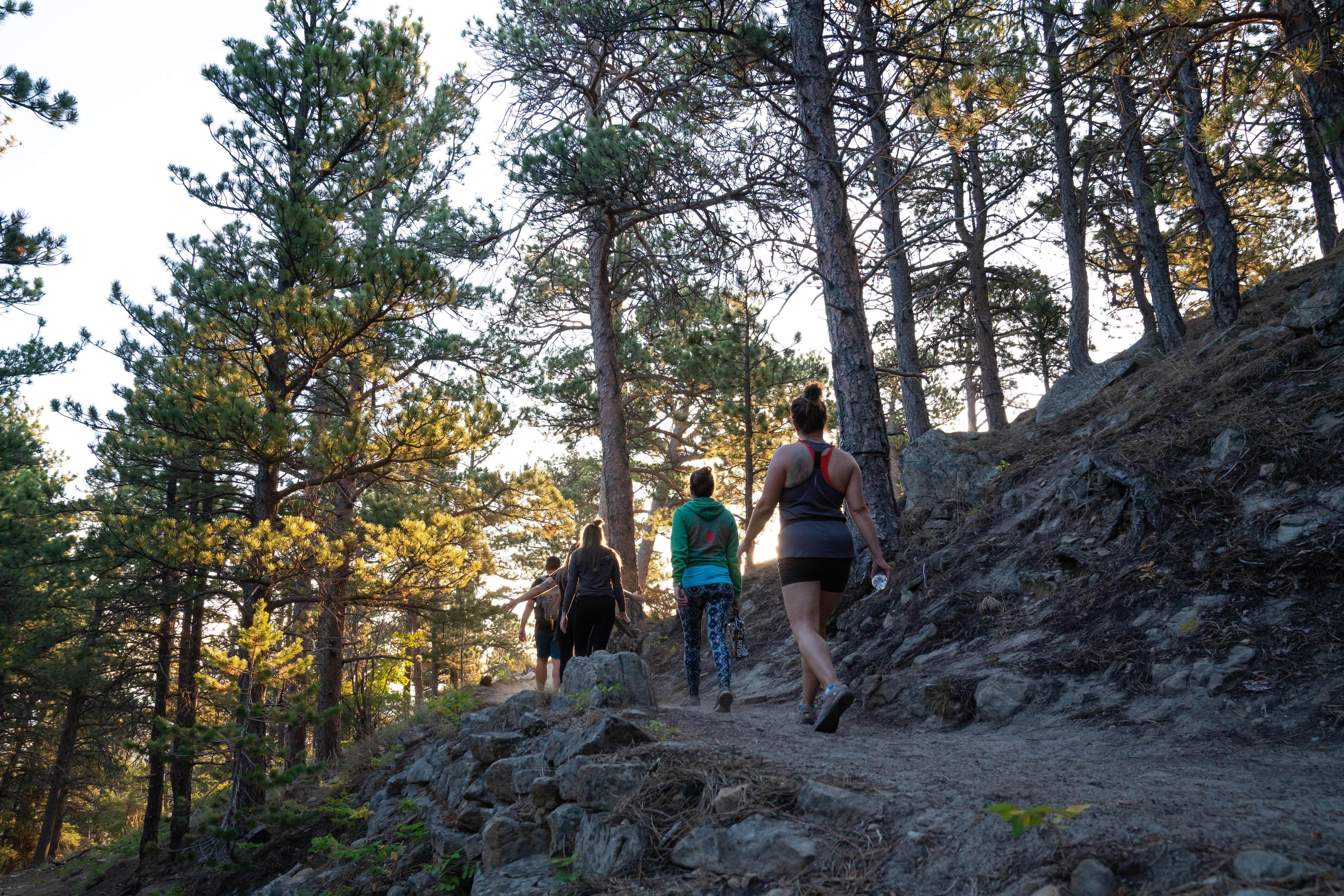 Sunrise Hike on Casper Mountain