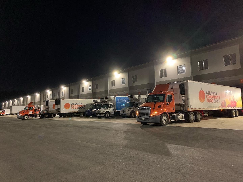 ACFB Truck at Facility