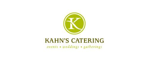 Kahn's Catering logo