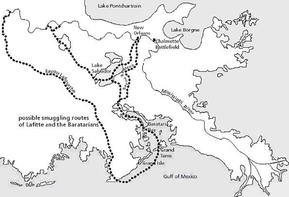 Slave Smuggling Route