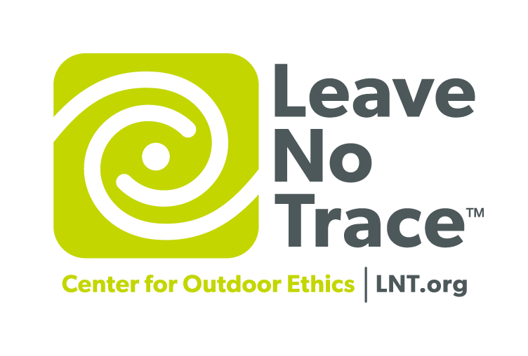 Leave No Travel Black and Green Logo