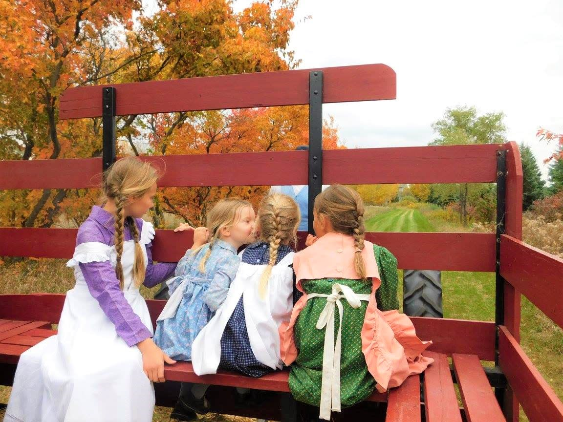 Fall on the Farm at Eidem Homestead