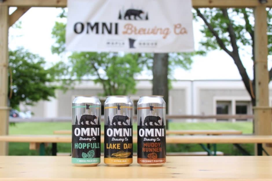 OMNI Brewing cans