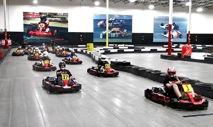 Enjoy the speed and thrills at ProKART Indoor Racing in Maple Grove. The facility's top class karts and enthusiastic participants make ProKART an ideal fun activity for families, friends, couples, private events and team-building activities.