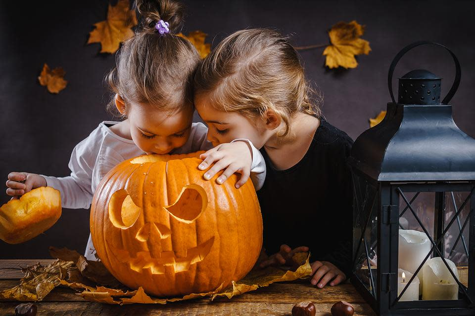 Pumpkin-carving fun