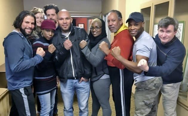 Champion boxers