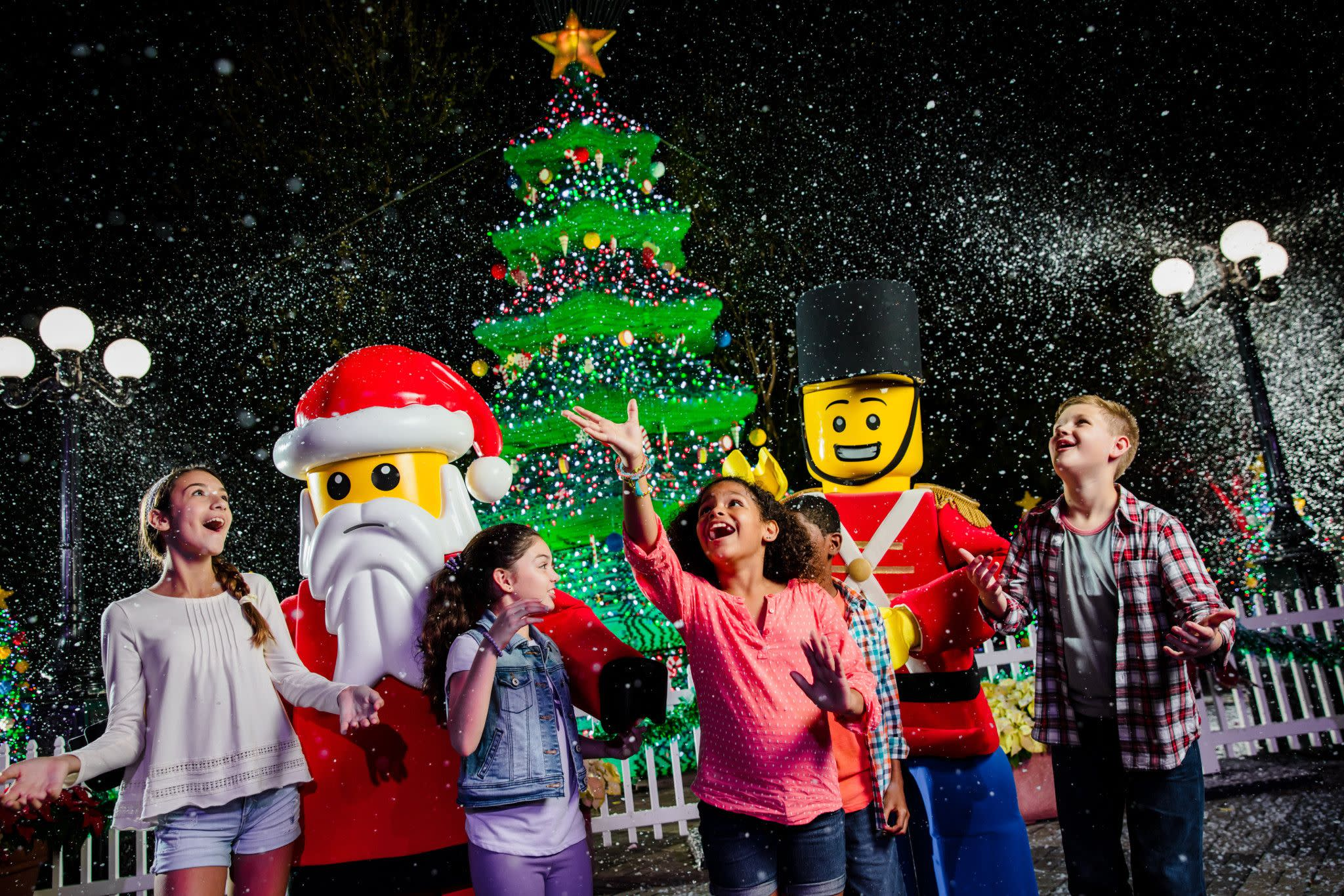 Meet LEGO Santa and LEGO Toy Solider During Holidays at LEGOLAND Florida Resort Near Orlando