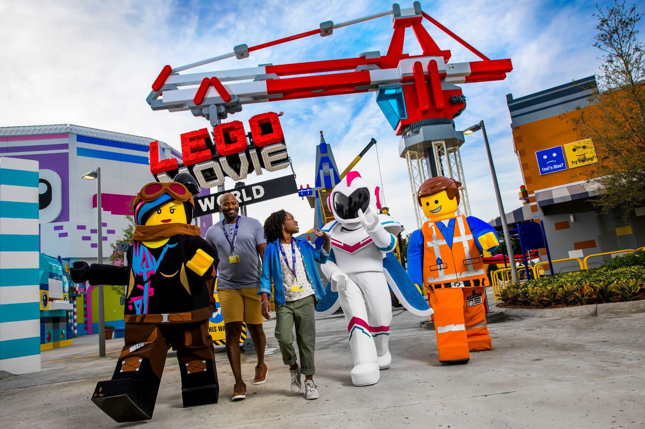 THE LEGO MOVIE WORLD at LEGOLAND Florida Resort Near Orlando