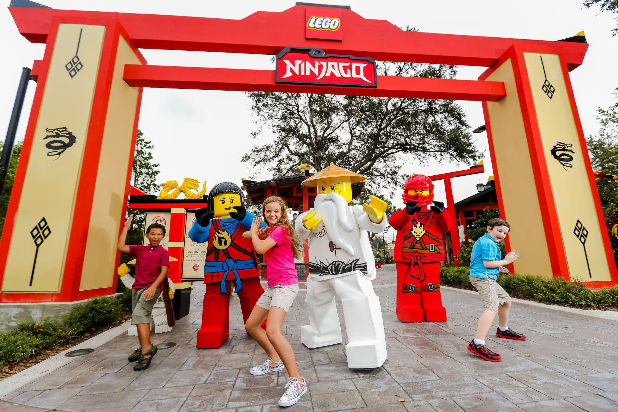 LEGO NINJAGO Days at LEGOLAND Florida Resort Near Orlando