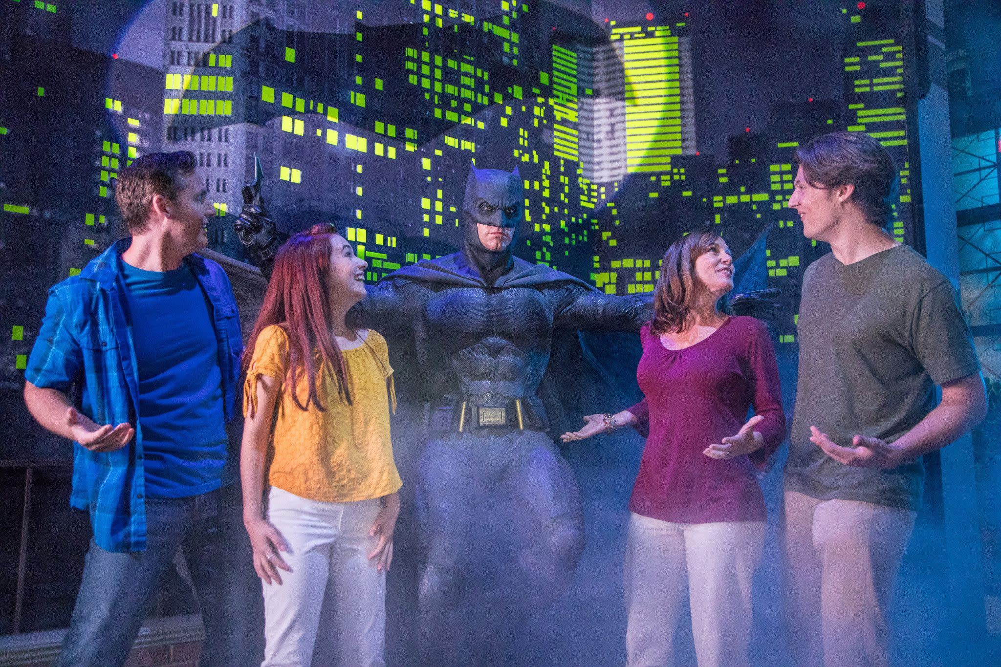 Ben Affleck as Batman at Madame Tussauds Orlando