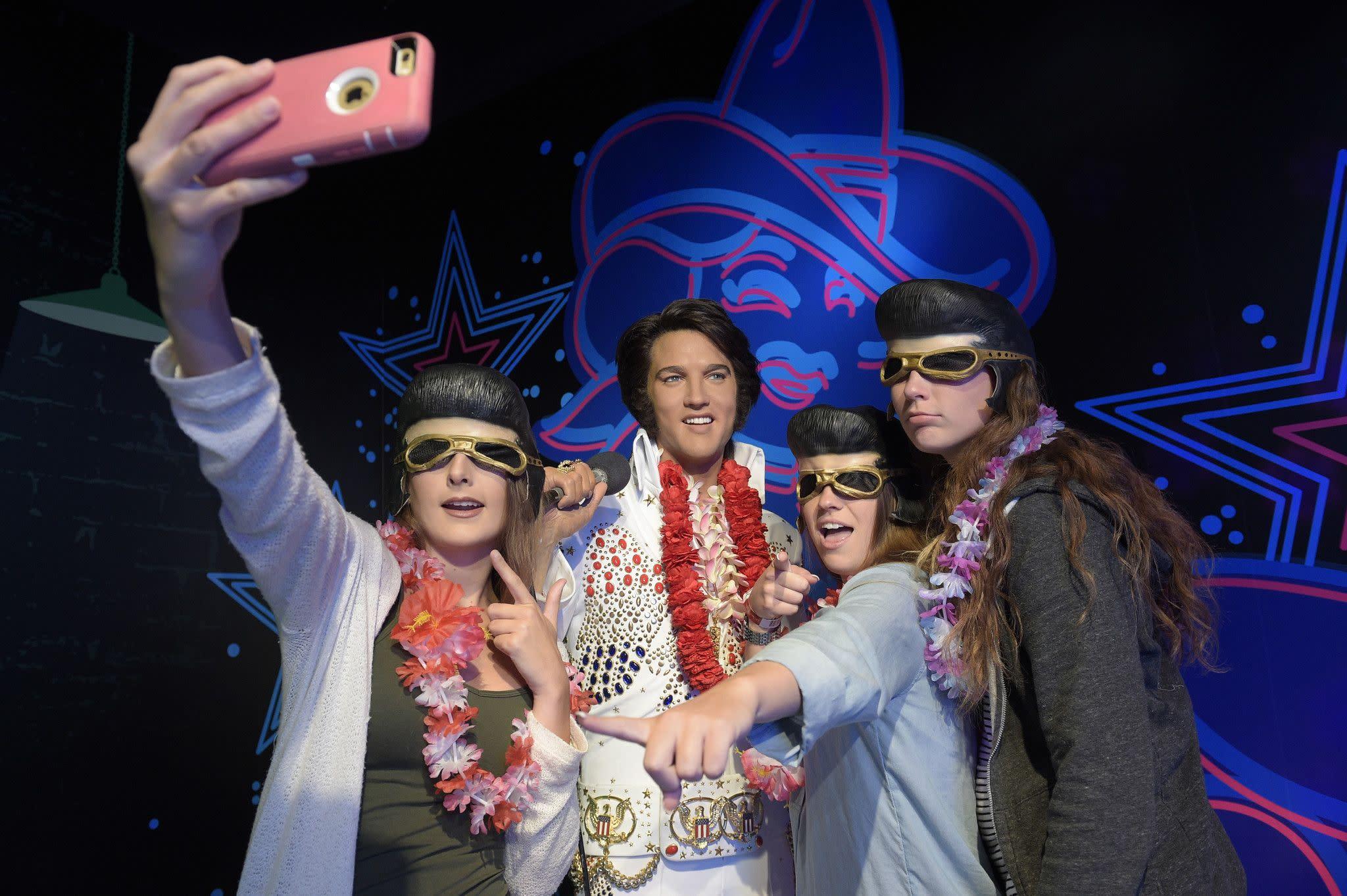 Elvis at Madame Tussauds Orlando