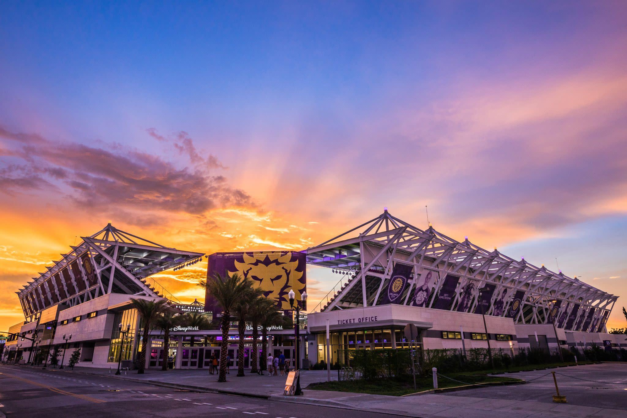 Exploria Stadium in Downtown Orlando
