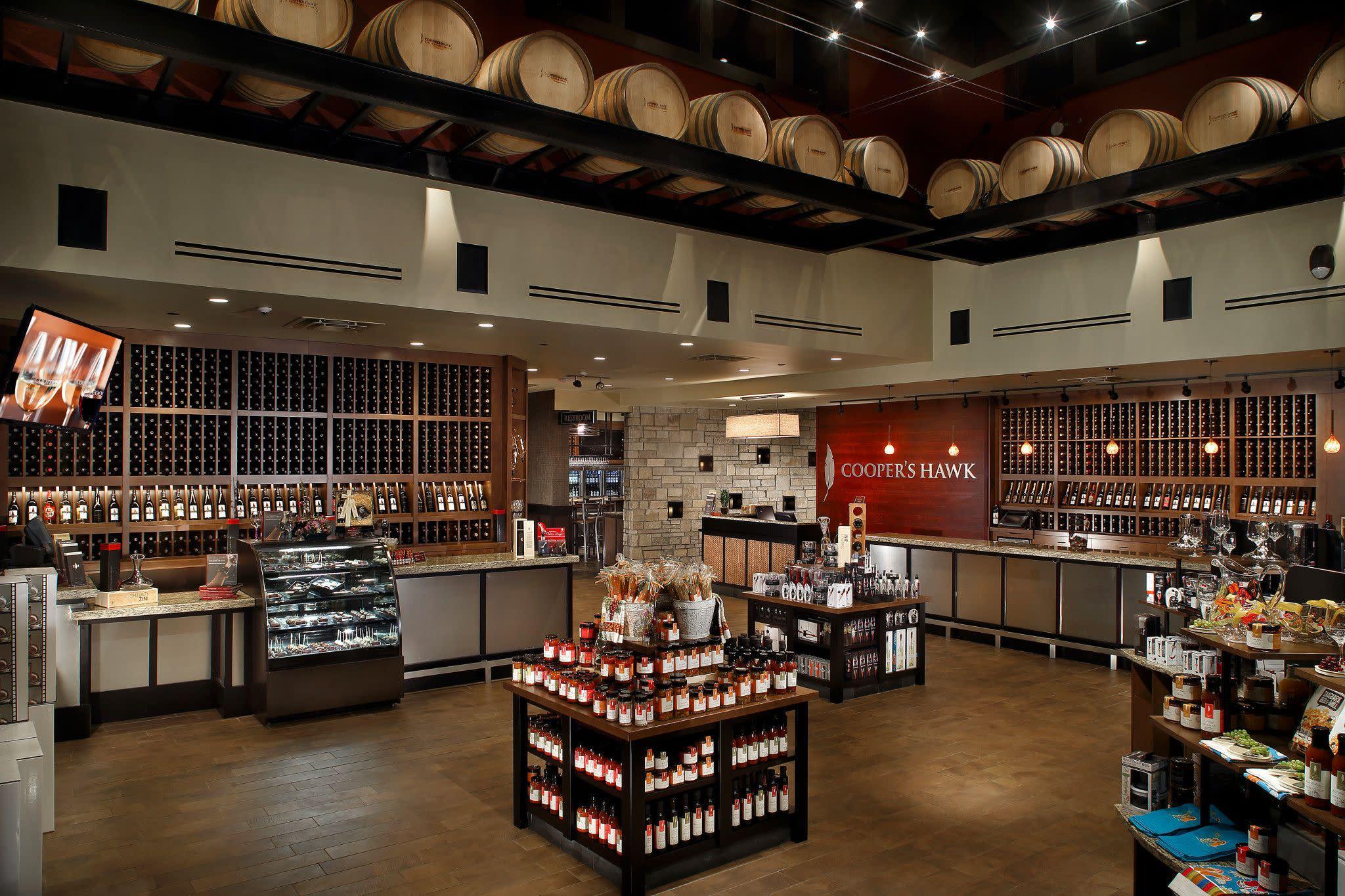Wine Store at Cooper's Hawk Winery & Restaurant in Orlando