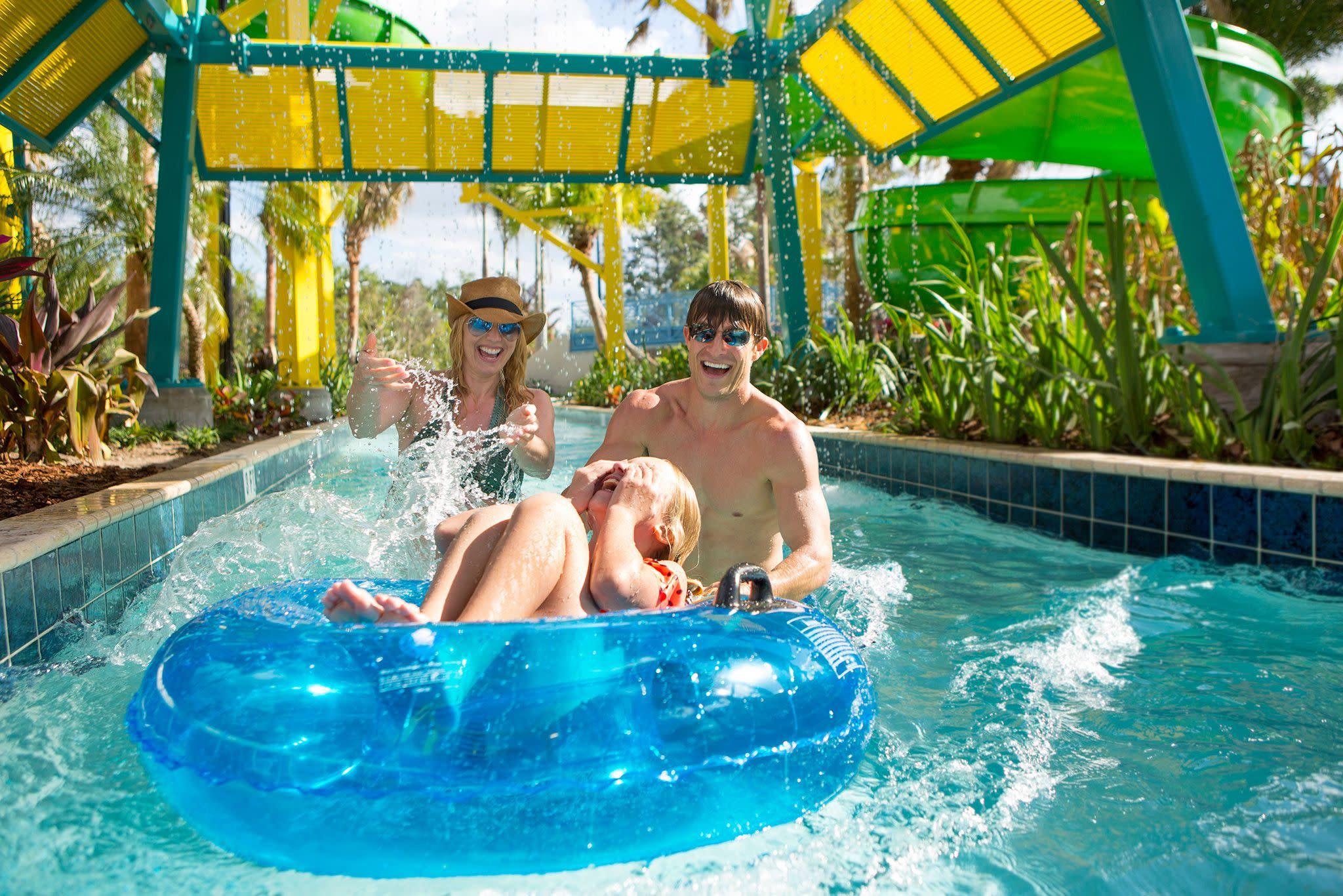 Surfari Water Park Lazy River at The Grove Resort Orlando