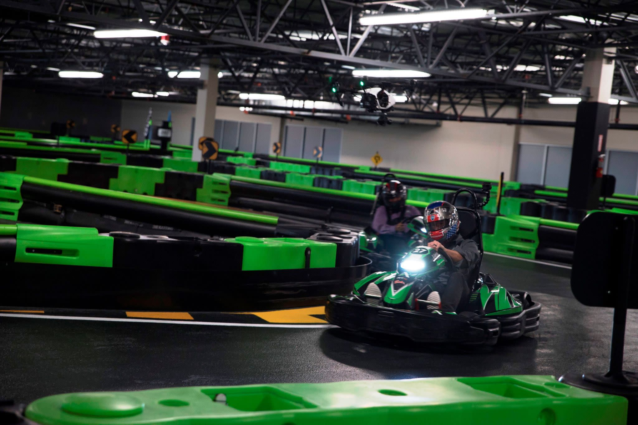 Andretti Indoor Karting & Games in Orlando