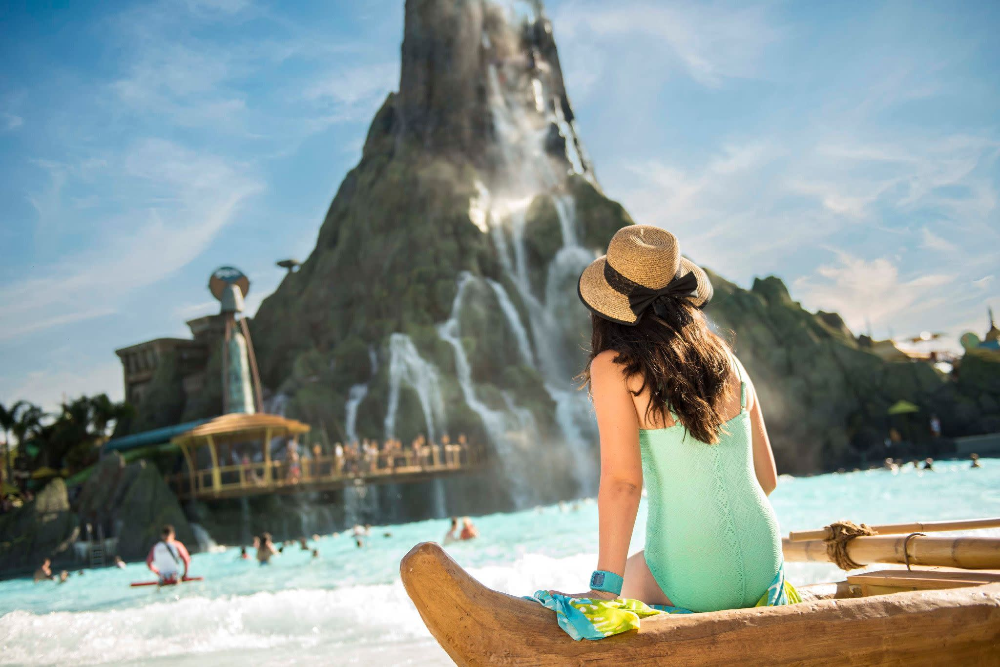 Universal's Volcano Bay Water Theme Park in Orlando