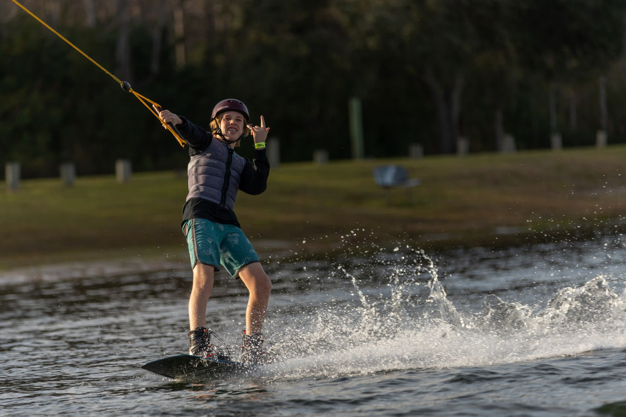 Wakeboarding at Orlando Watersports Complex