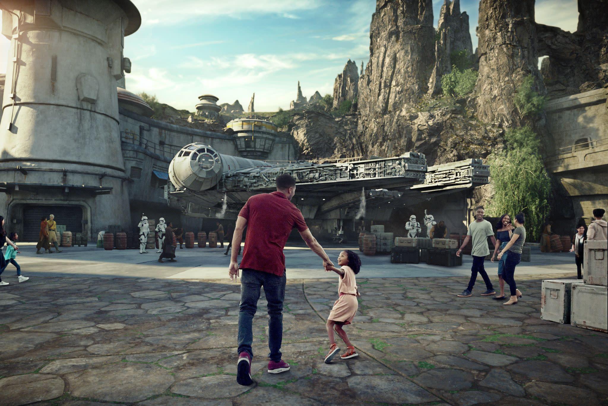Millennium Falcon: Smugglers Run at Disney's Hollywood Studios in Orlando