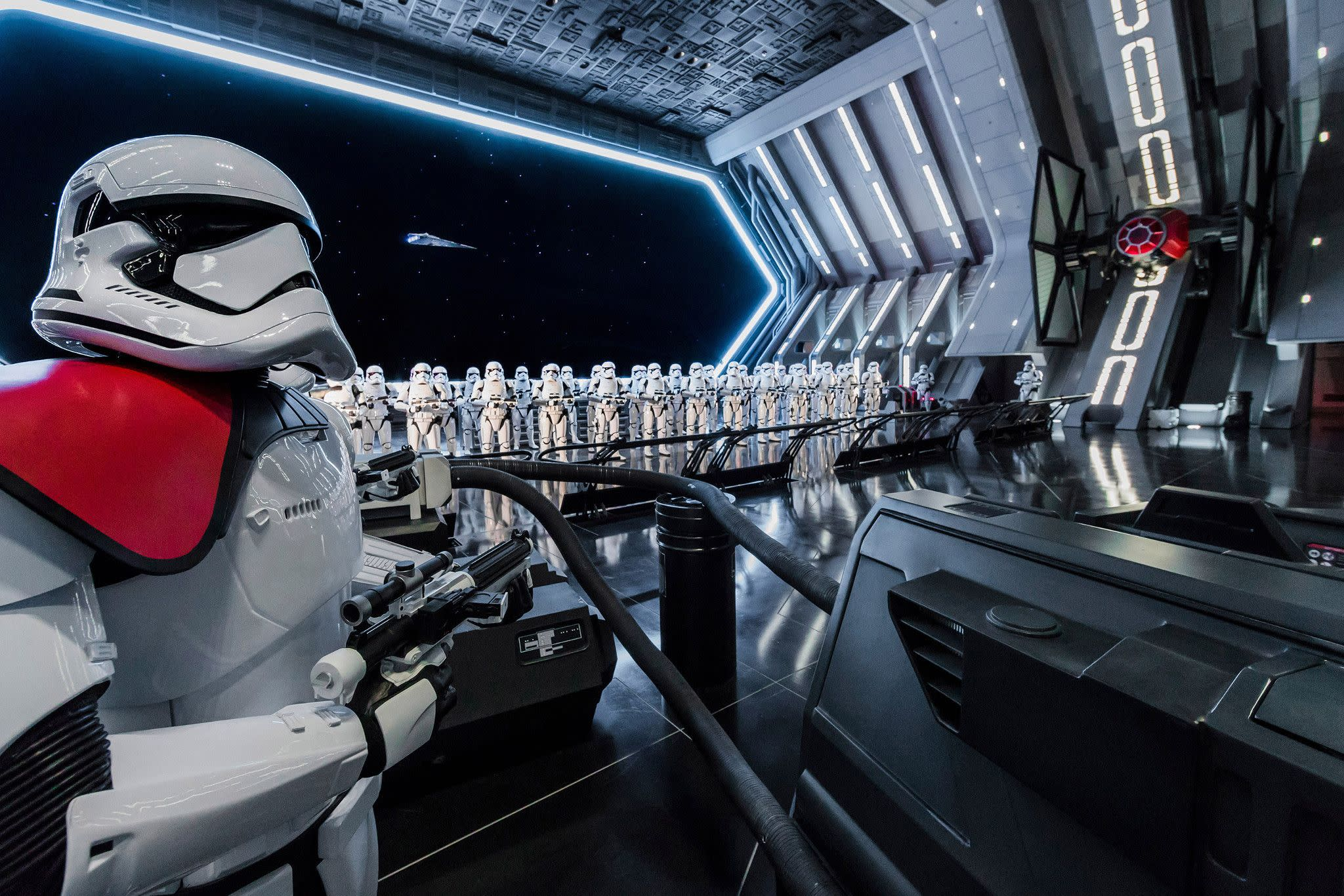 Star Wars: Rise of the Resistance at Star Wars: Galaxy's Edge at Disney's Hollywood Studios in Orlando