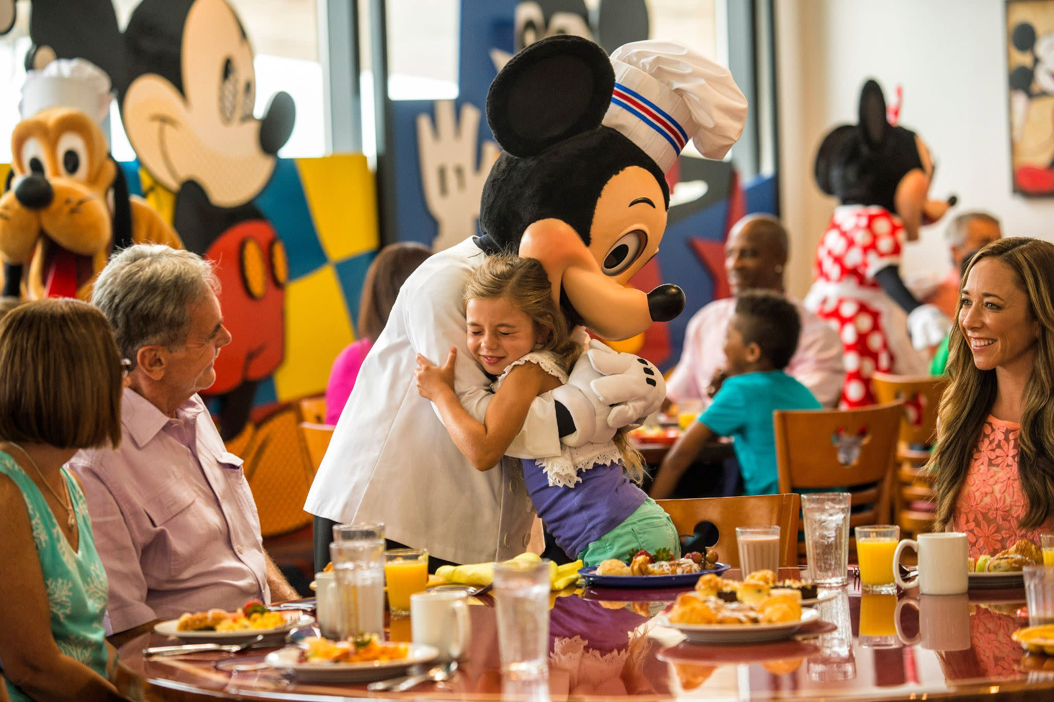 Fun Time Buffet at Chef Mickey's at Disney's Contemporary Resort in Orlando