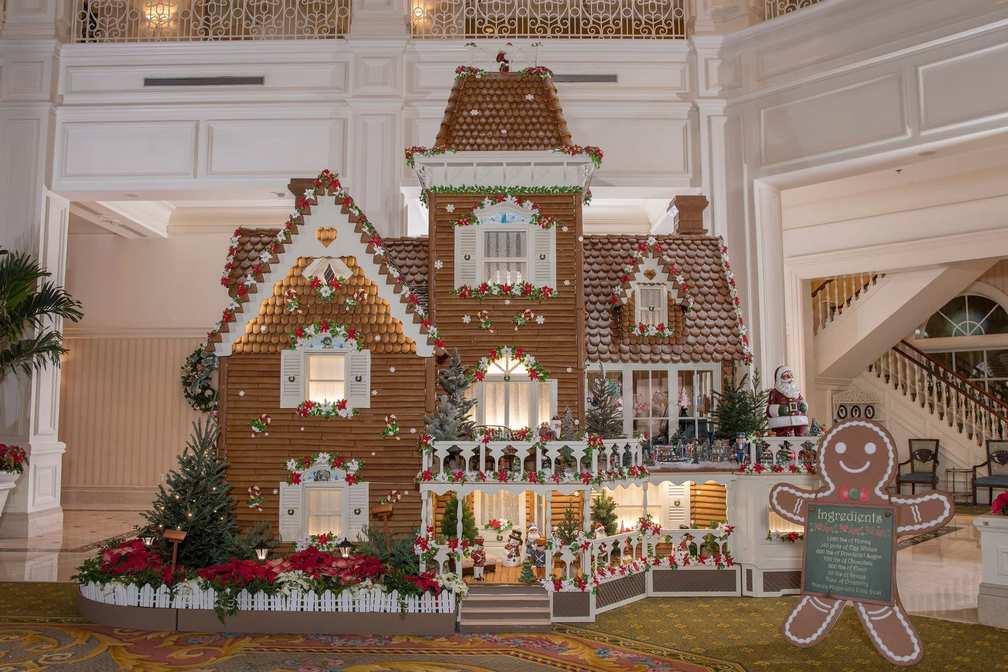 Gingerbread House at Disney's Grand Floridian Resort & Spa at Walt Disney World Resort in Orlando