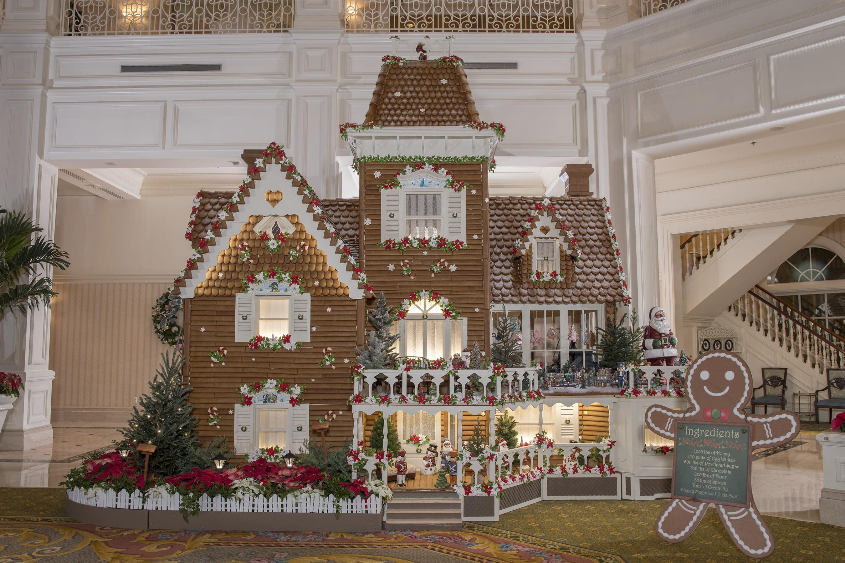 Gingerbread House at Disney's Grand Floridian Resort & Spa at Walt Disney World Resort in Orlando