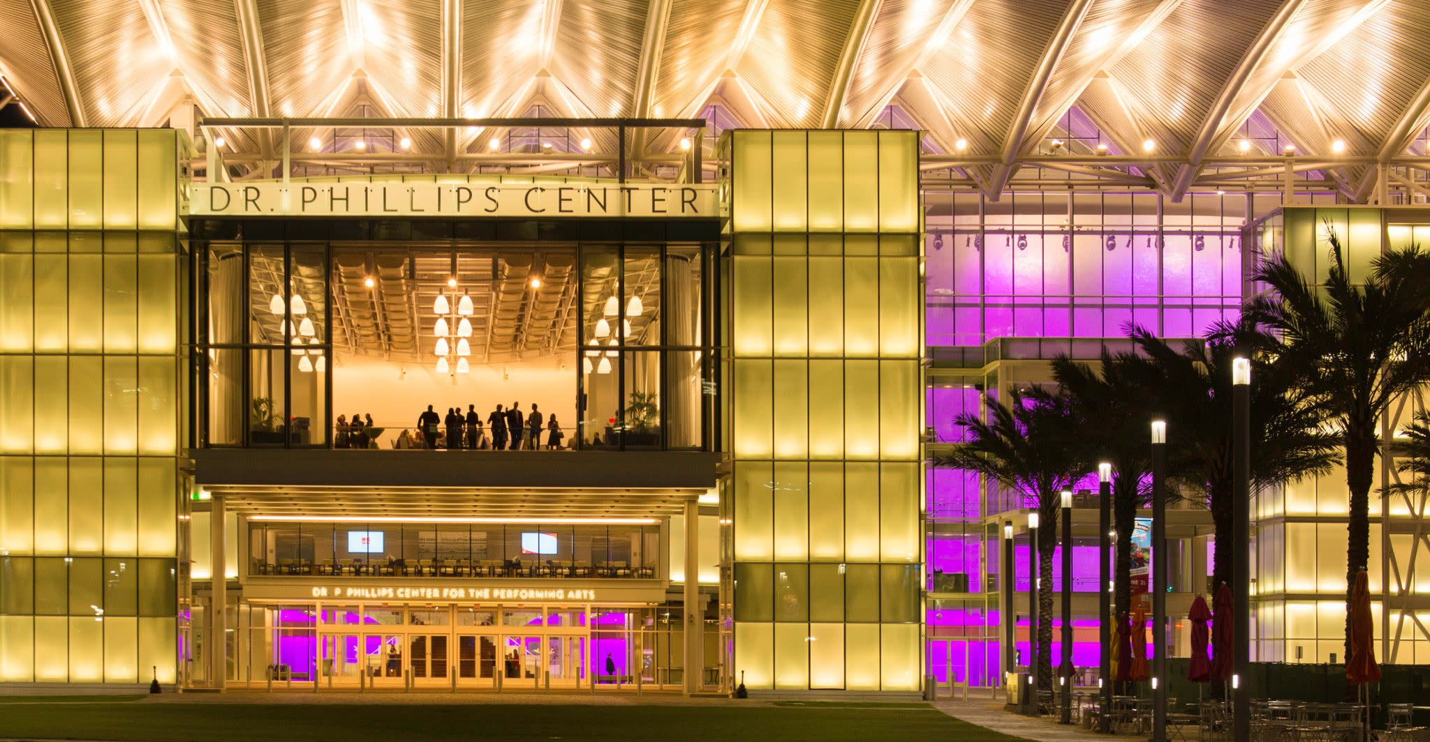 Dr. Phillips Center for the Performing Arts in Downtown Orlando