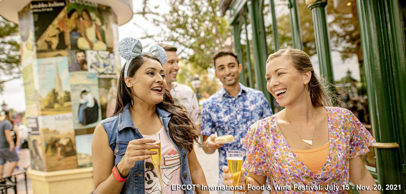 Epcot International Flower & Garden Festival at Walt Disney World Resort in Orlando