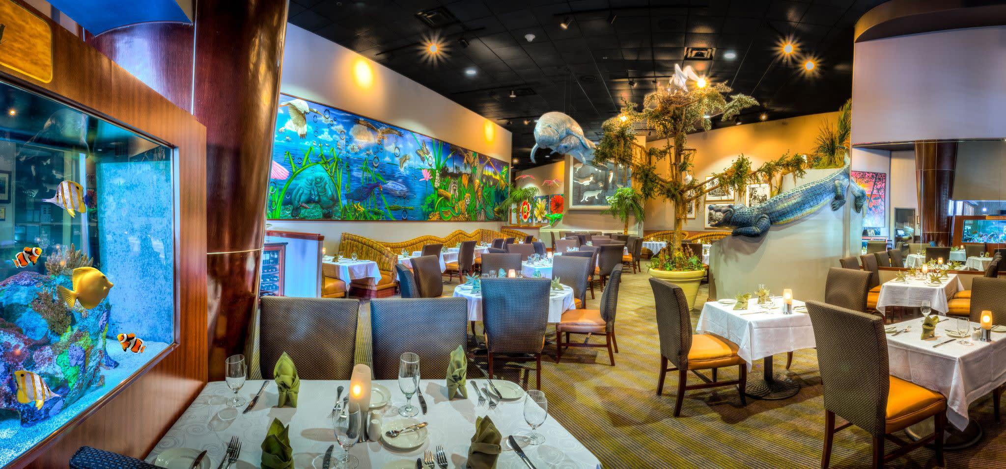 Everglades Restaurant at Rosen Centre Hotel in Orlando